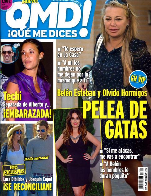 QUE ME DICES portada 12 de Enero 2015