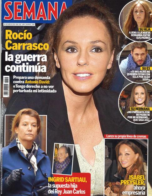 SEMANA portada 21 de Enero 2015