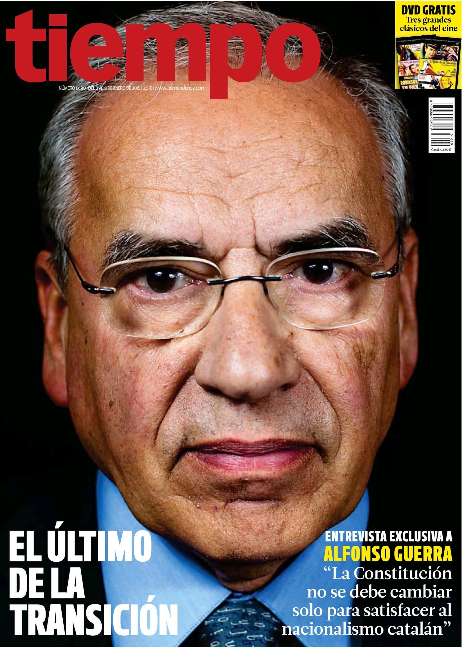 TIEMPO portada 4 de Enero 2015