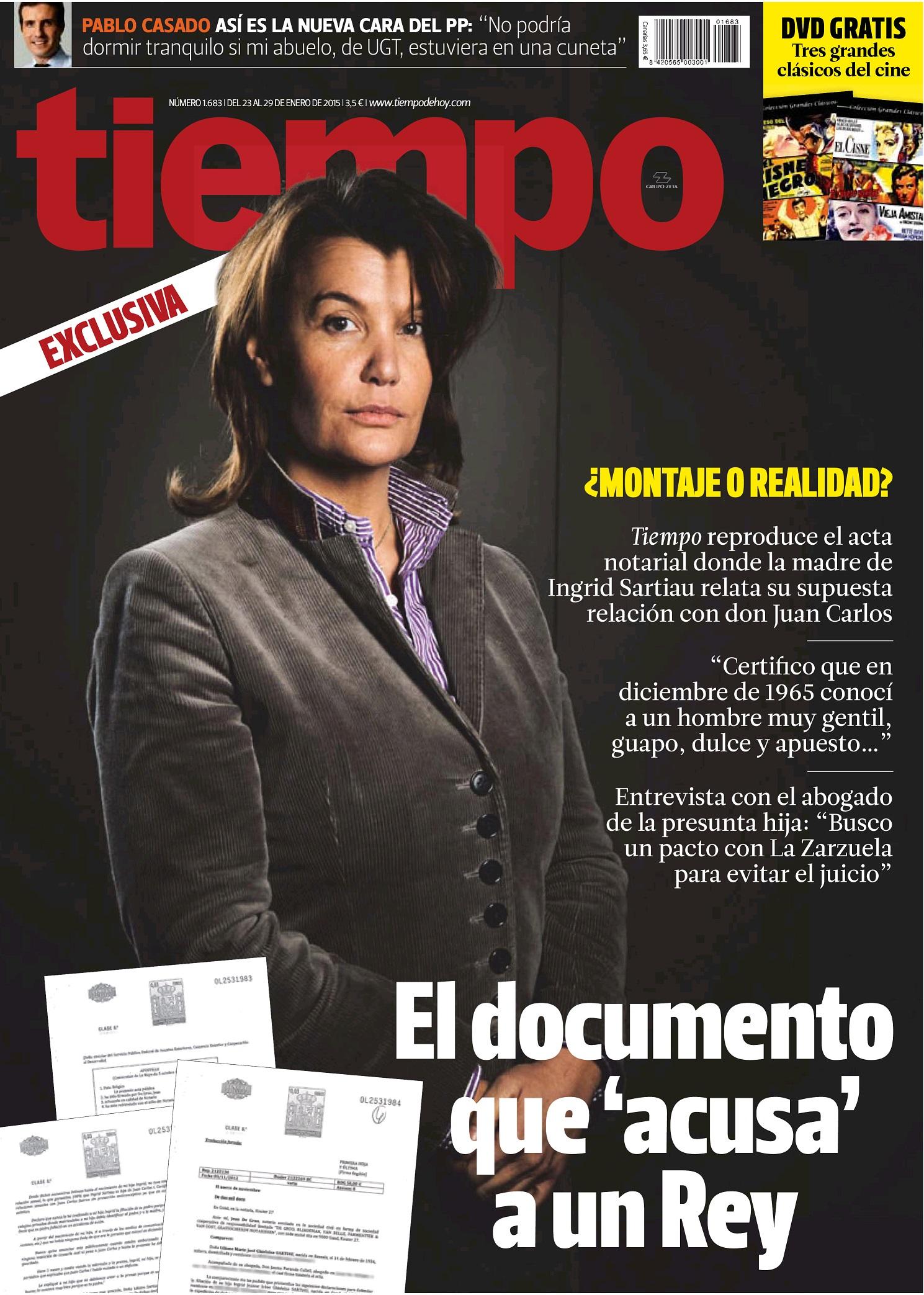 TIEMPO portada 25 de Enero 2015