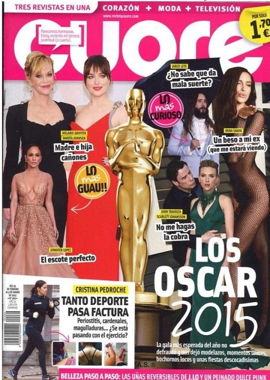 CUORE portada 25 de Febrero 2015