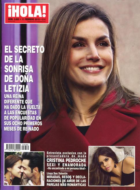 HOLA portada 4 de Febrero 2015