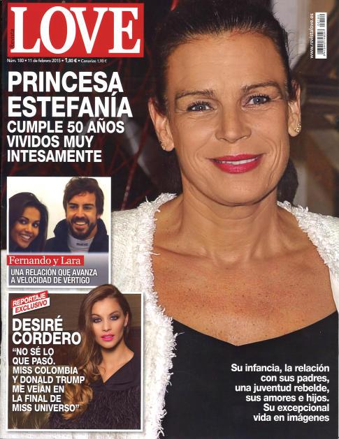 LOVE portada 4 de Febrero 2015