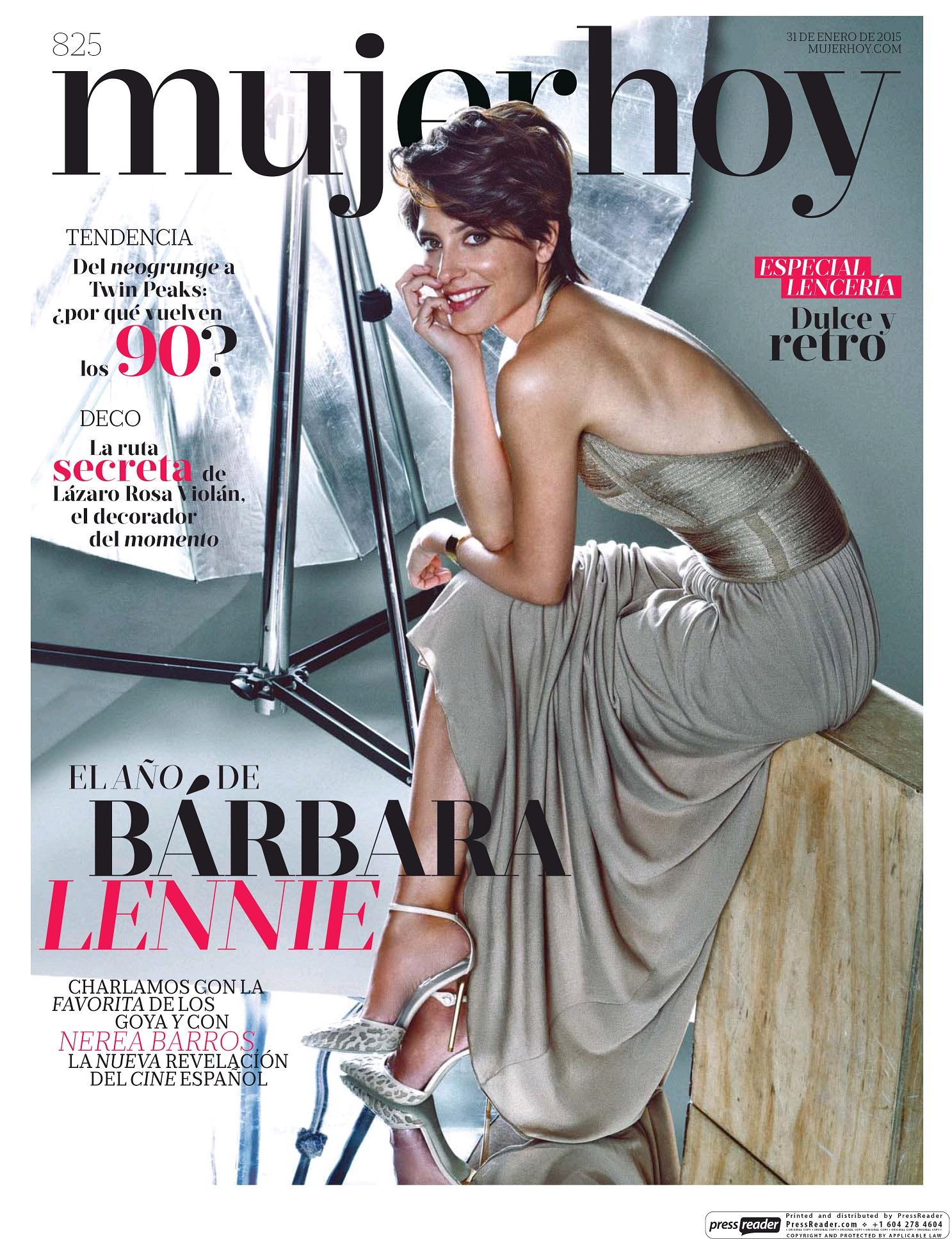 MUJER HOY portada 1 de Febrero 2015