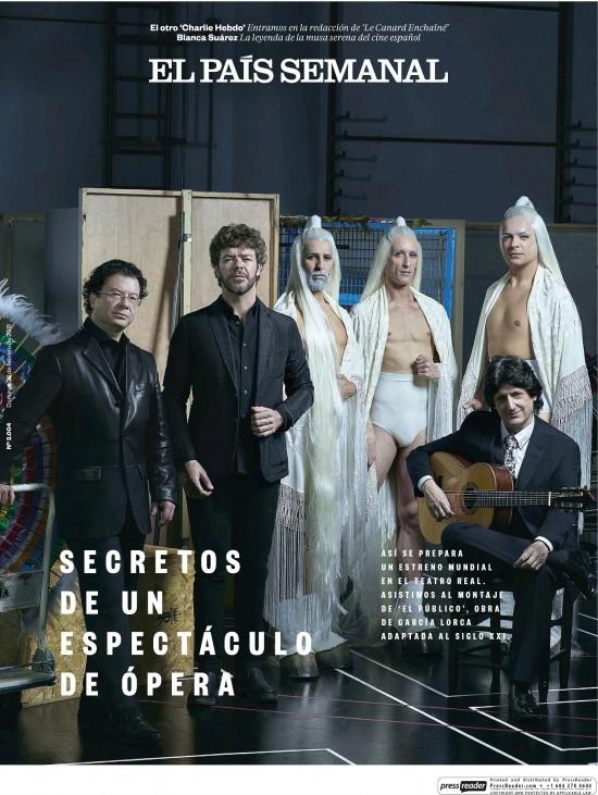 PAIS SEMANAL portada 22 de Febrero 2015
