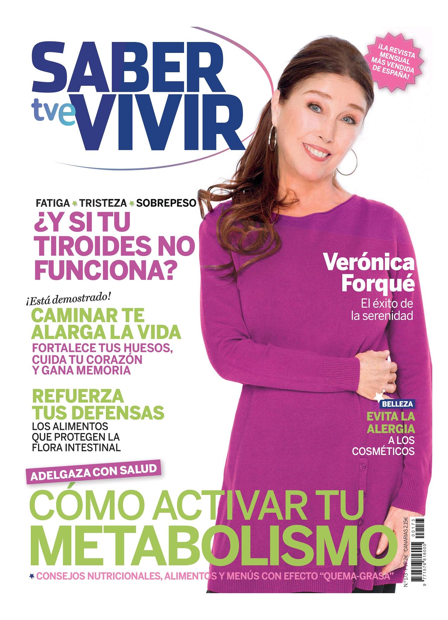 SABER VIVIR portada Marzo 2015