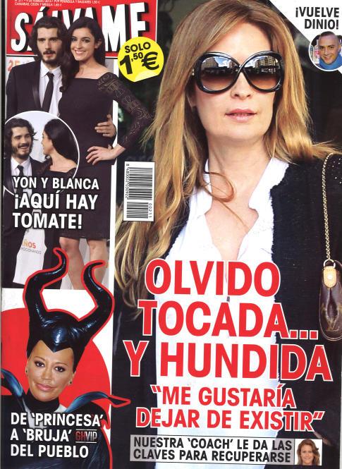 SALVAME portada 2 de Febrero 2015
