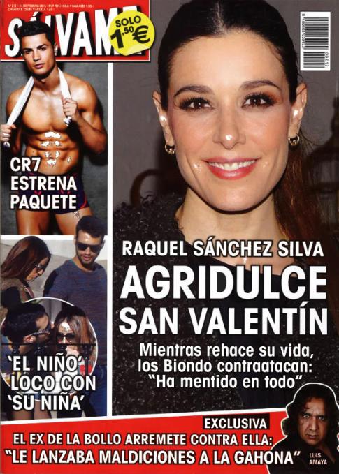 SALVAME portada 9 de Febrero 2015