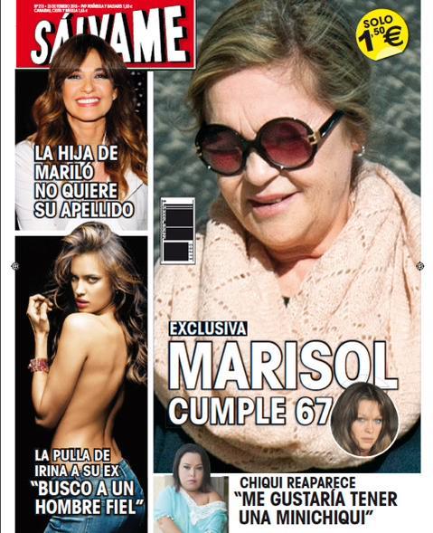 SALVAME portada 16 de Febrero 2015