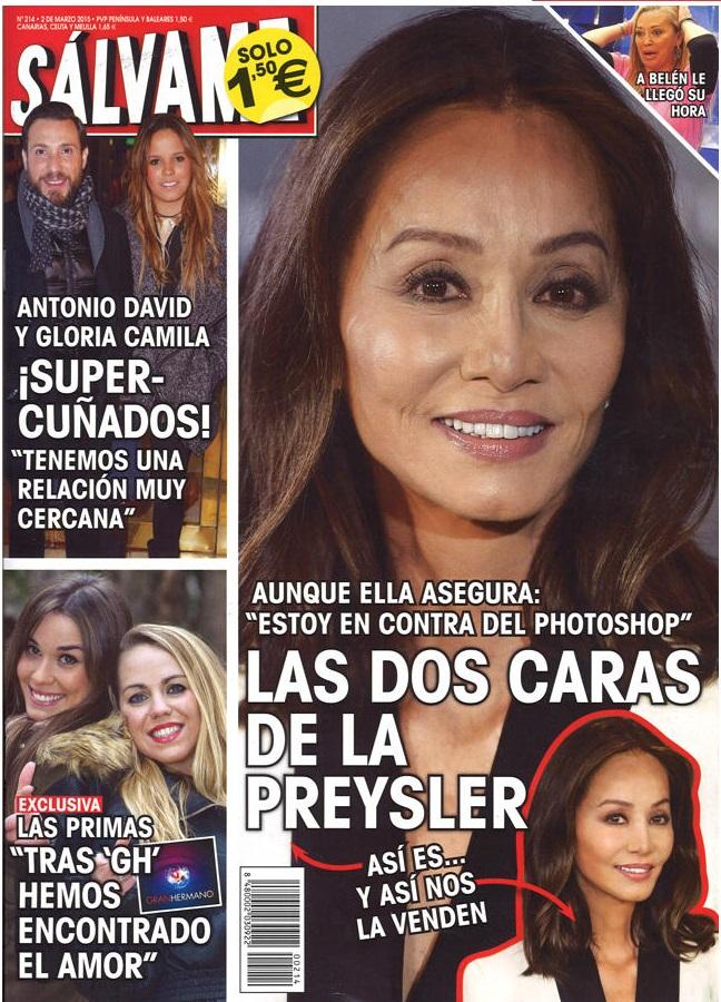 SALVAME portada 23 de Febrero 2015