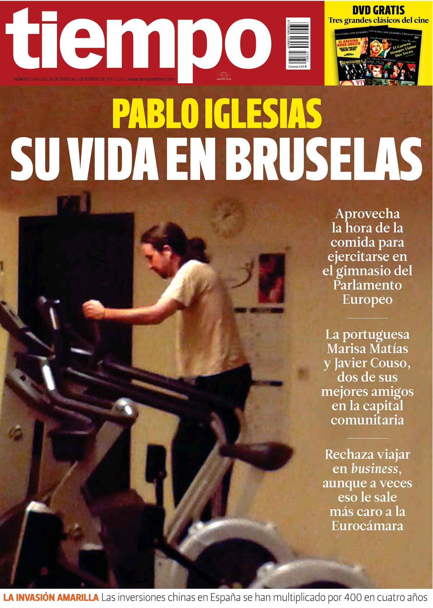 TIEMPO portada 2 de Febrero 2015