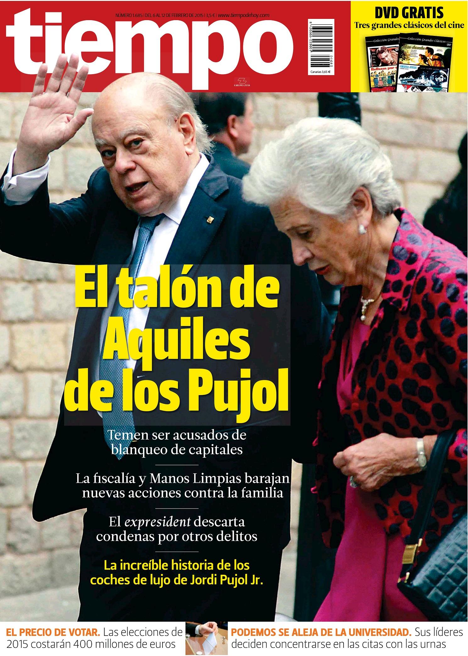 TIEMPO portada 8 de Febrero 2015