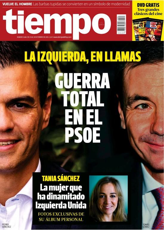 TIEMPO portada 15 de Febrero 2015