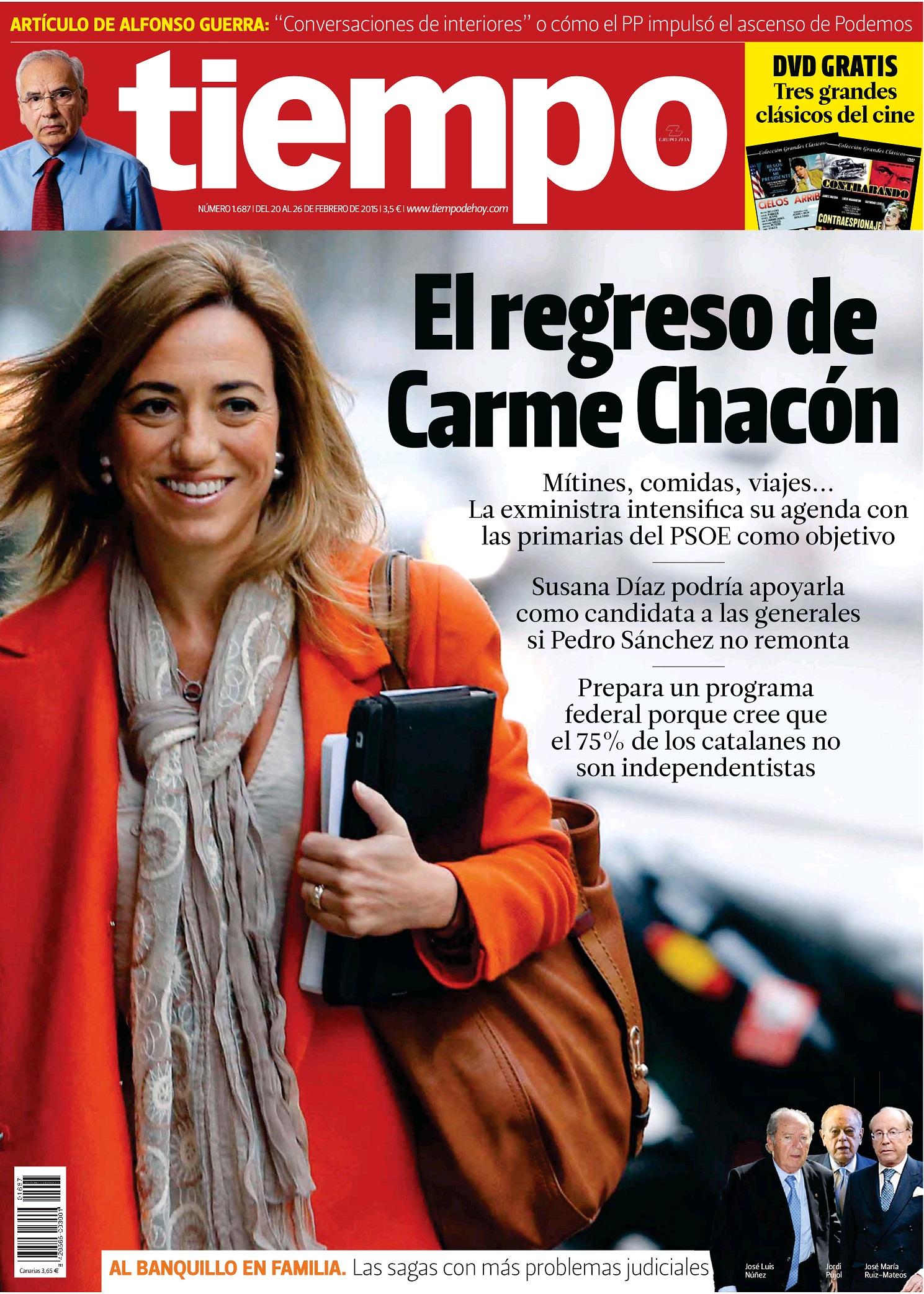 TIEMPO portada 22 de Febrero 2015