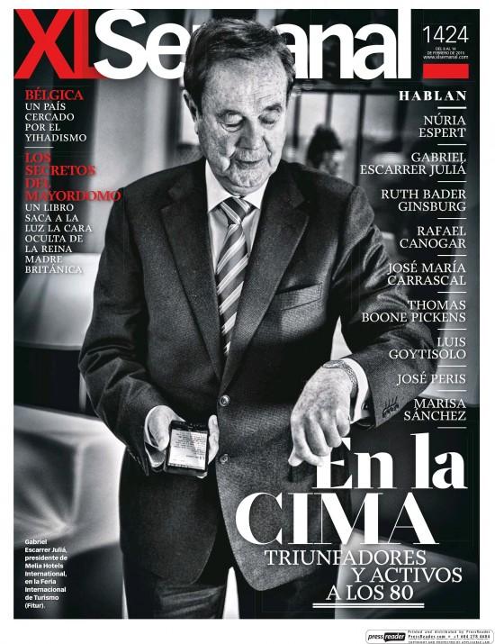 XL SEMANAL portada 8 de Febrero 2015