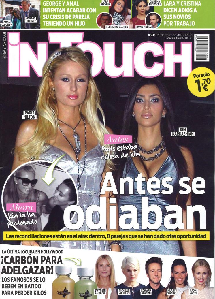 IN TOUCH portada 25 de Marzo 2015