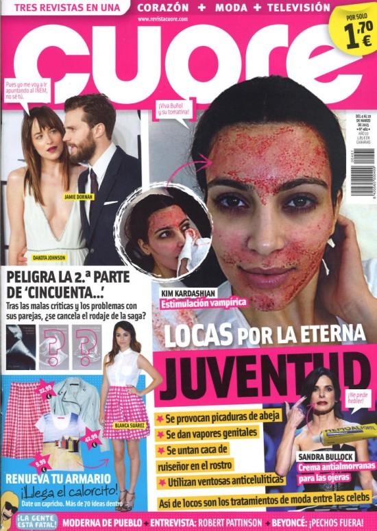 CUORE portada 4 de Marzo 2015