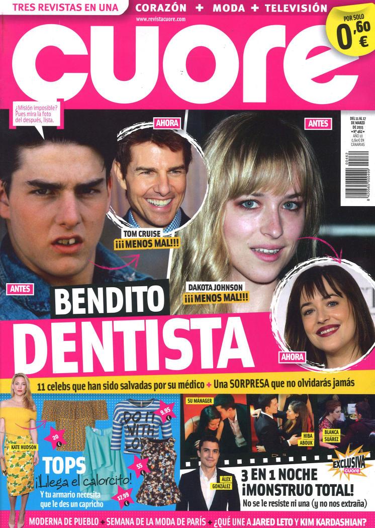 CUORE portada 11 de Marzo 2015