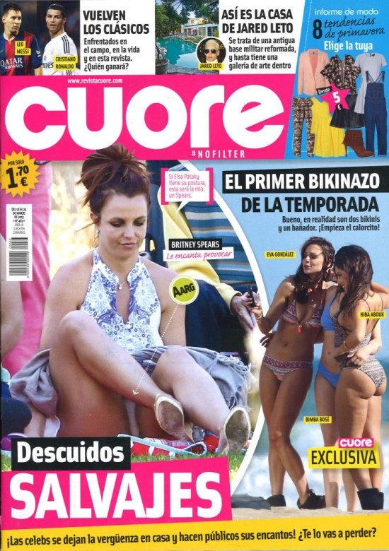 CUORE portada 18 de Marzo 2015