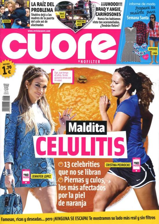 CUORE portada 25 de Marzo 2015