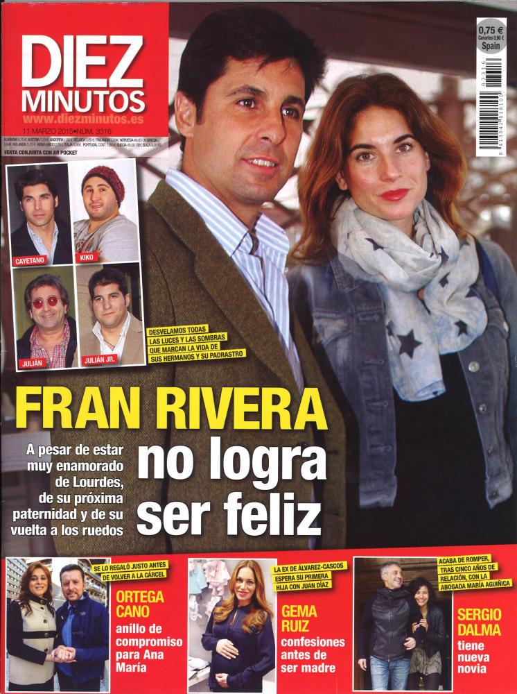 DIEZ MINUTOS portada 4 de Marzo 2015