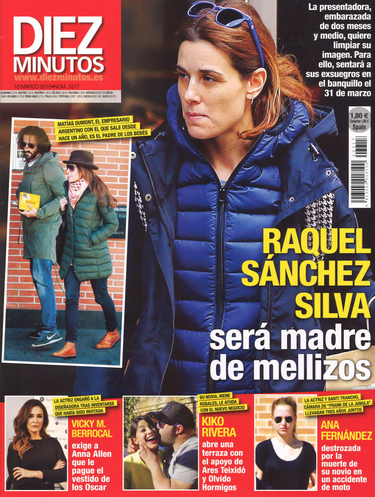 DIEZ MINUTOS portada 11 de Marzo 2015
