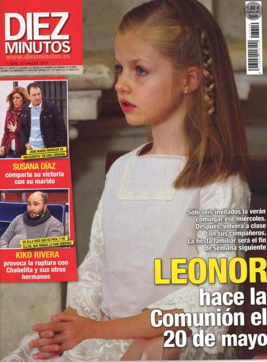 DIEZ MINUTOS portada 25 de Marzo 2015