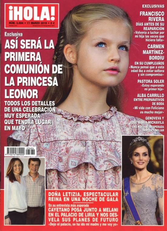 HOLA portada 4 de Marzo 2015
