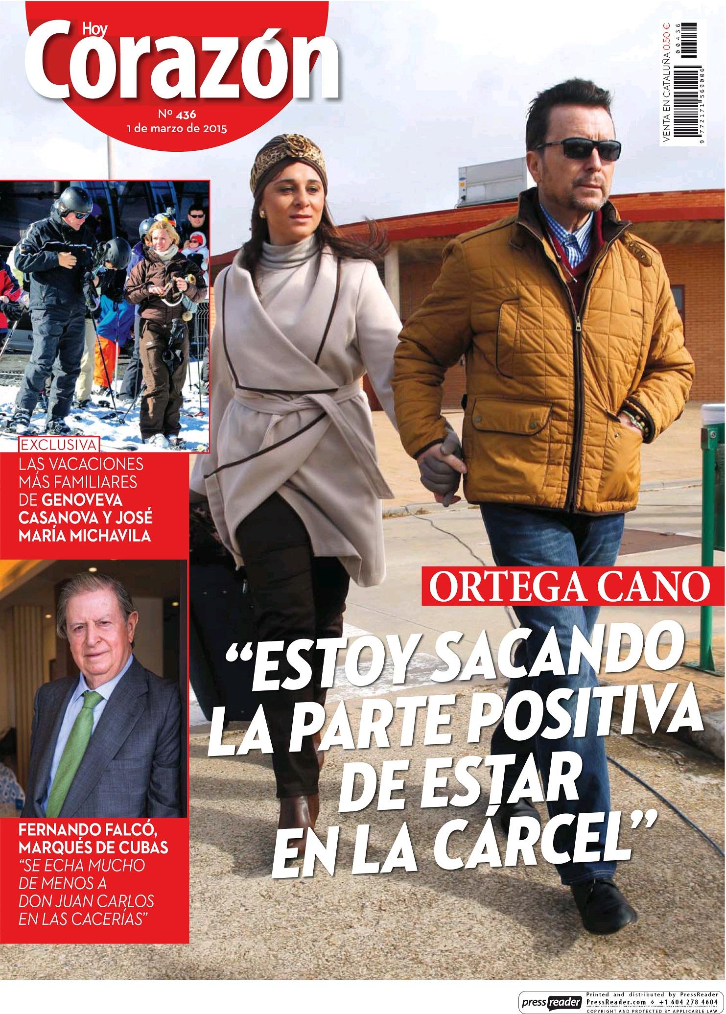 HOY CORAZON portada 1 de Marzo 2015