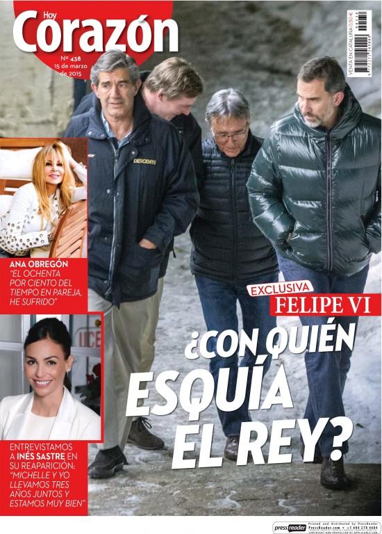 HOY CORAZON portada 15 de Marzo 2015