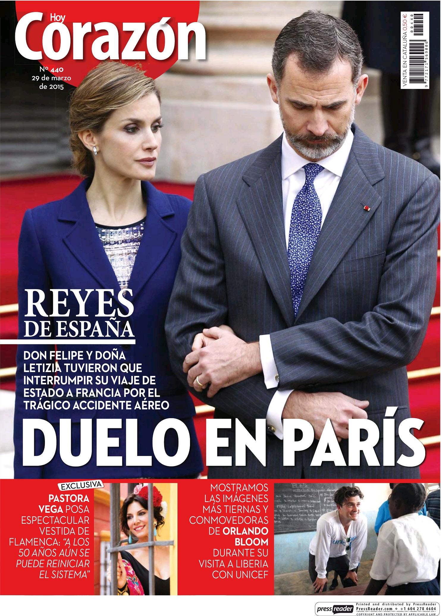 HOY CORAZON portada 25 de Marzo 2015