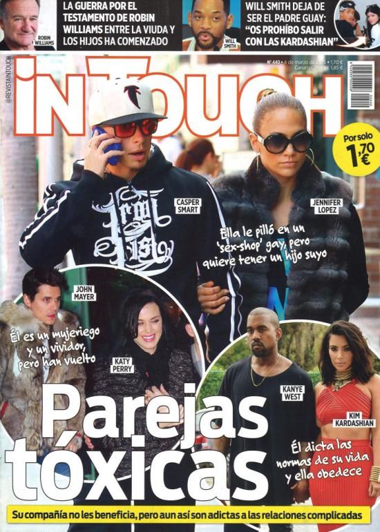 IN TOUCH portada 4 de Marzo 2015