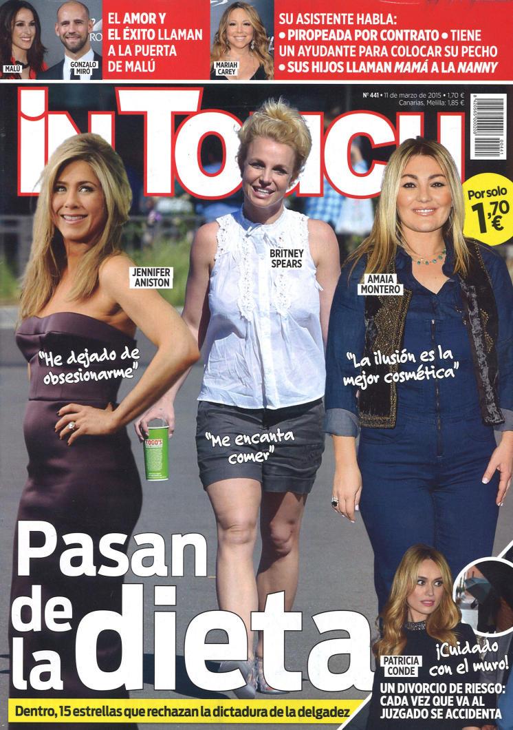 IN TOUCH portada 11 de Marzo 2015