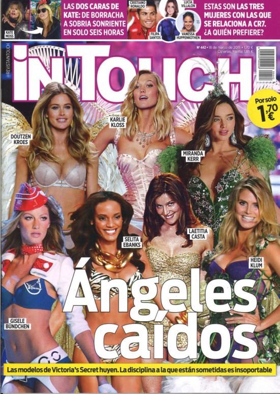 IN TOUCH portada 18 de Marzo 2015