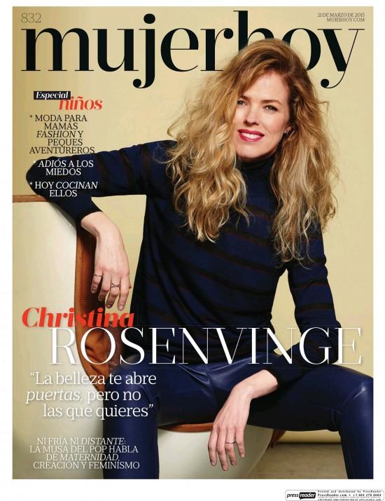 MUJER HOY portada 22 de Marzo 2015