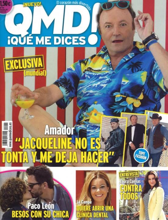 QUE ME DICES portada 23 de Marzo 2015