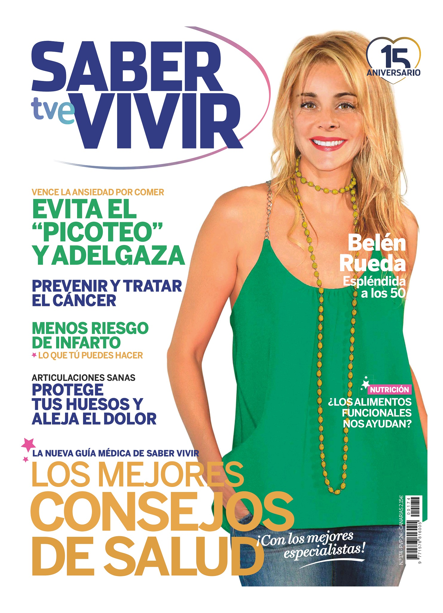 SABER VIVIR portada Abril 2015