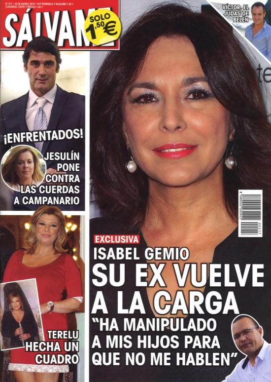 SALVAME portada 16 de Marzo 2015