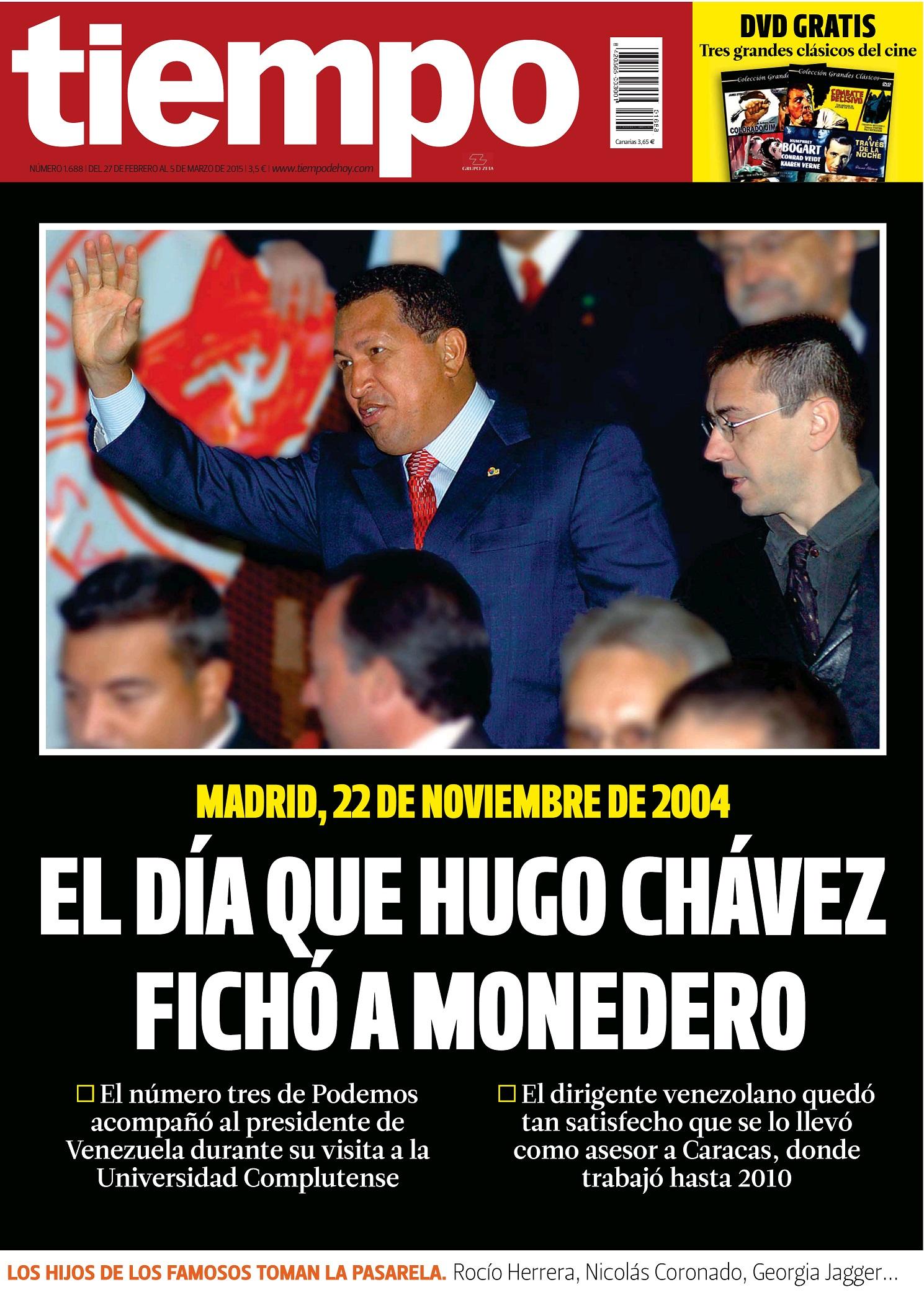 TIEMPO portada 1 de Marzo 2015