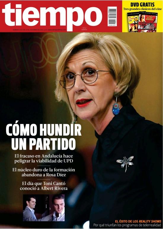TIEMPO portada 25 de Marzo 2015
