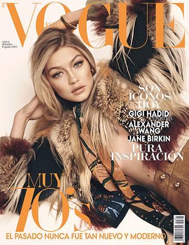 VOGUE portada Marzo 2015