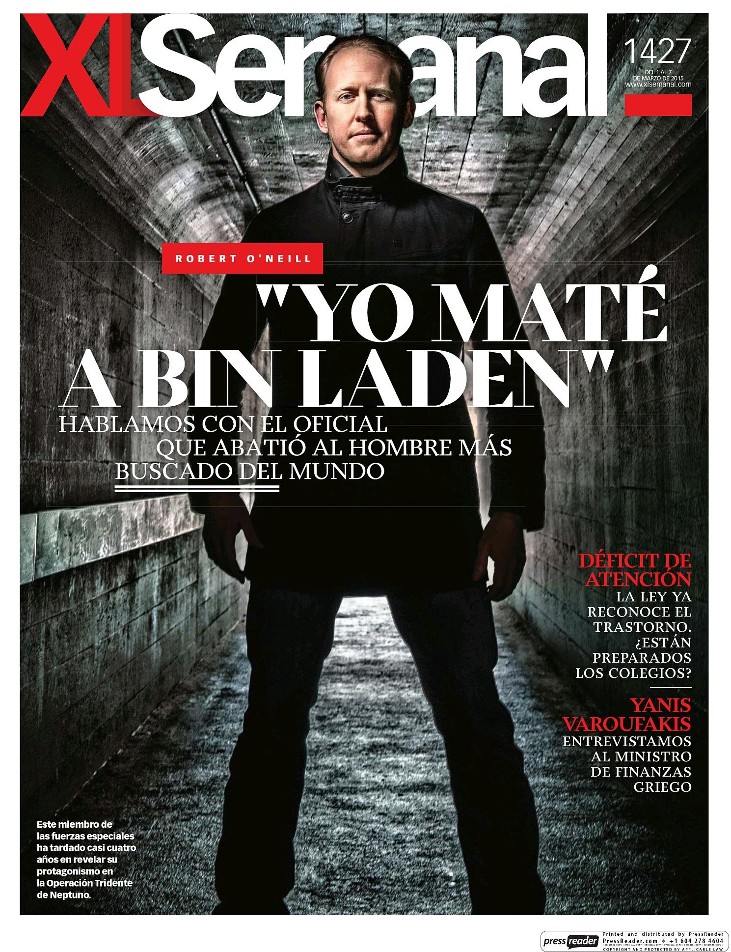 XL SEMANAL portada 1 de Marzo 2015