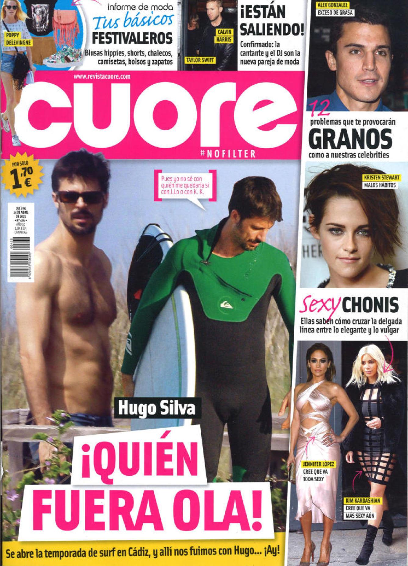 CUORE portada 8 de Abril 2015