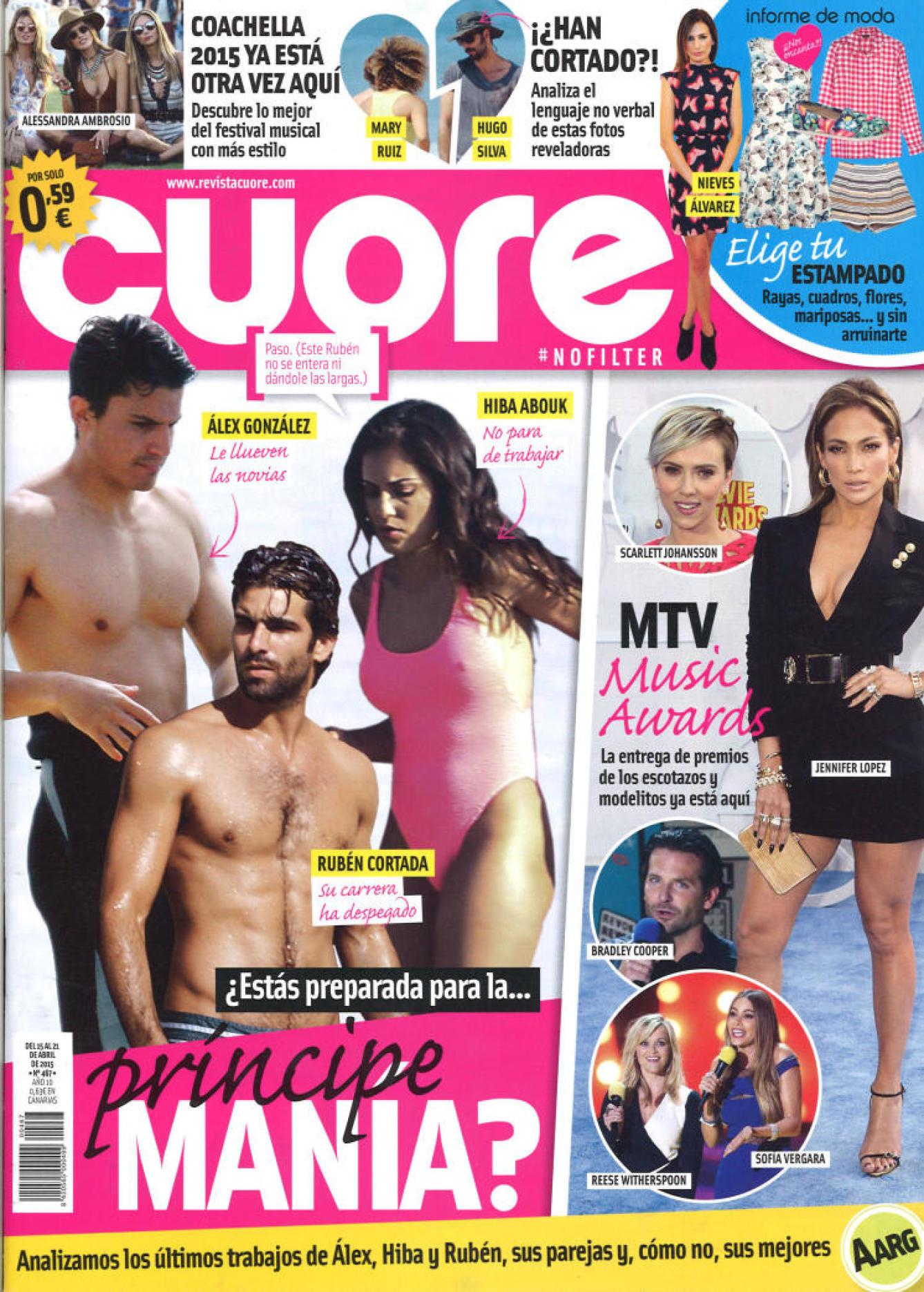 CUORE portada 15 de Abril 2015