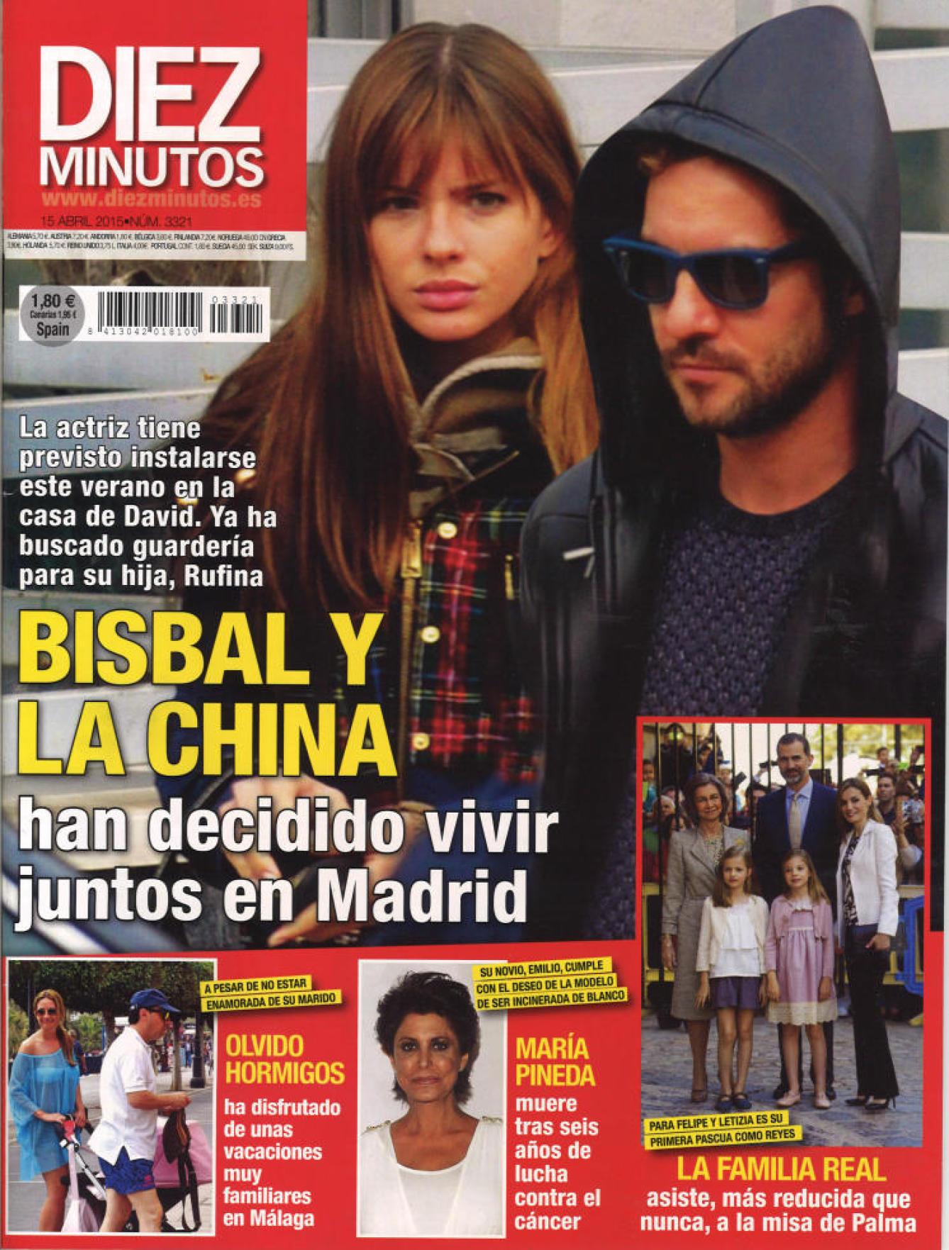 DIEZ MINUTOS portada 8 de Abril 2015