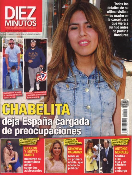 DIEZ MINUTOS portada 15 de Abril 2015