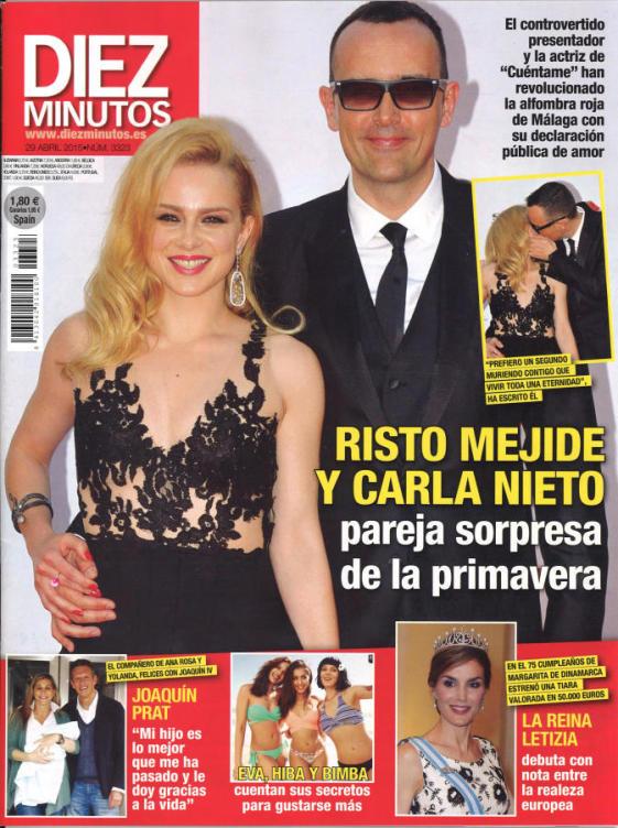 DIEZ MINUTOS portada 22 de Abril 2015
