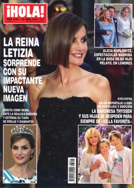 HOLA portada 22 de Abril 2015