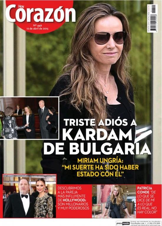 HOY CORAZON portada 12 de Abril 2015