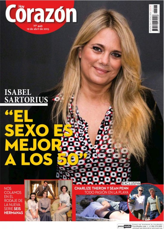 HOY CORAZON portada 19 de Abril 2015